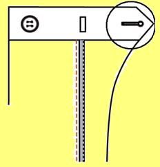 П13 CONTRAST BUTTONHOLE