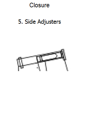 П12.5 SIDE ADJUSTERS
