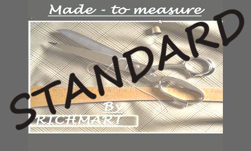 CMT - 3 PARTS SUIT /SECOND TROUSERS/ STANDARD