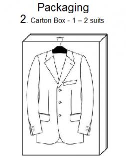2. CARTON BOX (1-2 SUITS)