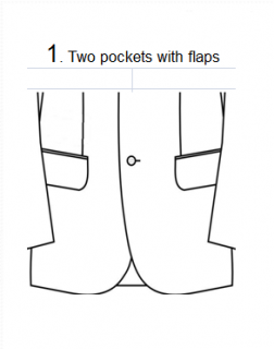 C7.1 TWO POCKETS WITH FLAPS