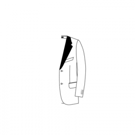9. Satin lapel and collar