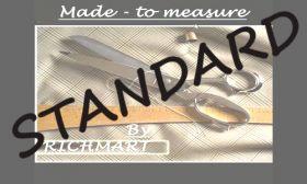 CMT - 3 PARTS /+WAISTCOAT/ STANDARD - CLIENT'S FABRIC